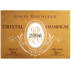 Champagne Louis Roederer Cristal 2006