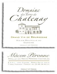 2014 Domaine des Terres de Chatenay Macon Peronne