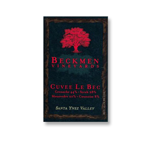 2012 Beckmen Vineyards Cuvee Le Bec Santa Ynez Valley