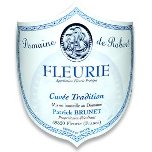 2014 Domaine de Robert Fleurie Cuvee Tradition