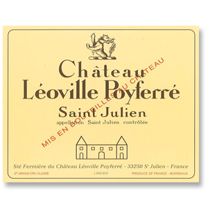 2010 Chateau Leoville Poyferre Saint Julien