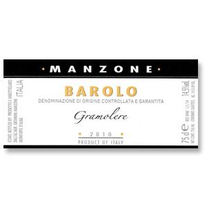 2010 Giovanni Manzone Barolo Le Gramolere