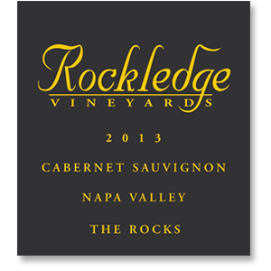 "2013 Rockledge Vineyards Cabernet Sauvignon ""The Rocks"" Napa Valley"