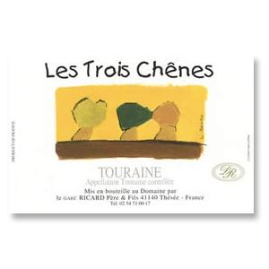 2014 Domaine Vincent Ricard Cuvee Les Trois Chenes Touraine