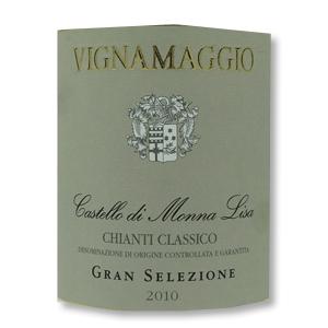 2010 Vignamaggio Castello di Monna Lisa Chianti Classico Riserva Gran Selezione