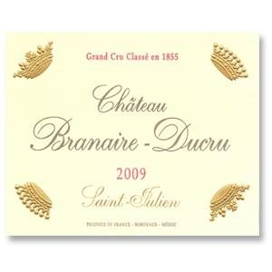 2009 Chateau Branaire Ducru Saint Julien