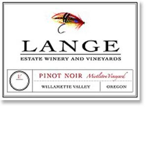 2012 Lange Pinot Noir Mistletoe Vineyard Willamette Valley
