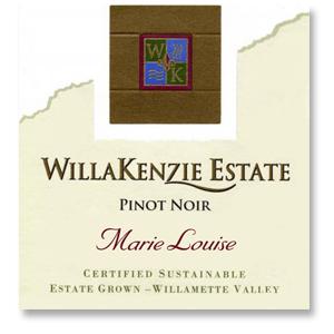 "2014 WillaKenzie Estate Pinot Noir ""Marie Louise"" Willamette Valley"