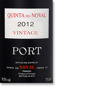 2012 Quinta do Noval Vintage Port