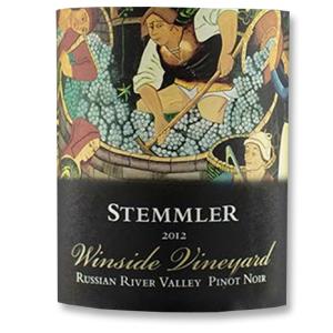 2012 Robert Stemmler Winery Pinot Noir Winside Vineyard Russian River Valley