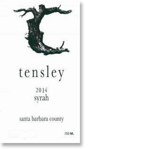 2011 Tensley Syrah Santa Barbara County