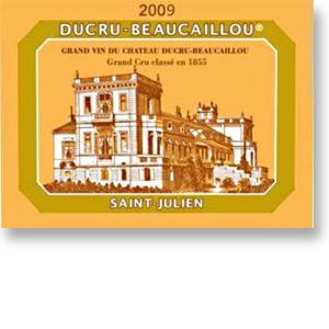 2009 Chateau Ducru Beaucaillou Saint Julien