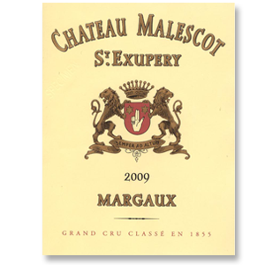 2009 Chateau Malescot St. Exupery Margaux