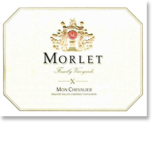 2010 Morlet Family Vineyards Cabernet Sauvignon Mon Chevalier Knights Valley
