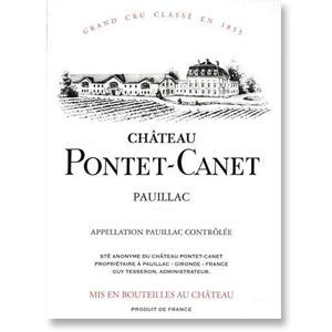 2010 Chateau Pontet-Canet Pauillac