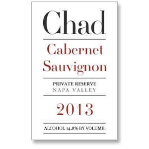 2013 Chad Cabernet Sauvignon Private Reserve