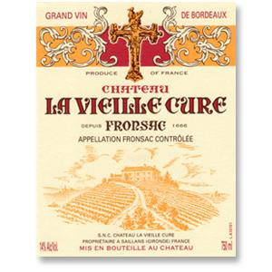 2012 Chateau La Vieille Cure Fronsac