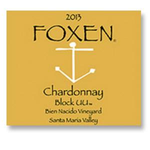 2013 Foxen Winery Chardonnay Bien Nacido Vineyard Block UU Santa Maria Valley