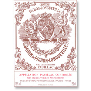 2010 Chateau Pichon-Longueville Baron Pauillac