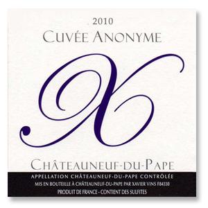2010 Xavier Vignon Chateauneuf-Du-Pape Cuvee Anonyme