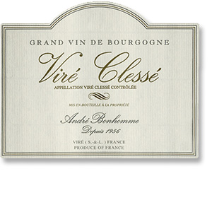 2014 Domaine Andre Bonhomme Vire-Clesse