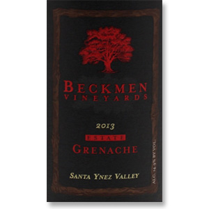 2013 Beckmen Vineyards Grenache Estate Santa Ynez Valley