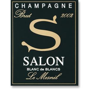 2002 Champagne Salon Blanc de Blancs Le Mesnil Grand Cru