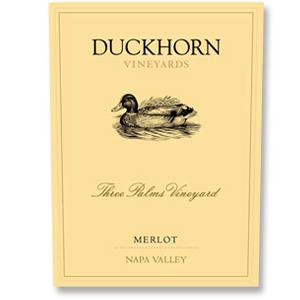 2012 Duckhorn Vineyards Merlot Three Palms Vineyard Napa Valley