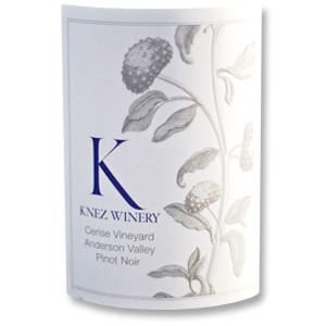 2012 Knez Winery Pinot Noir Cerise Vineyard Anderson Valley