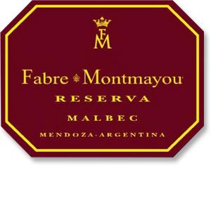 2014 Fabre Montmayou Malbec Reserva Mendoza