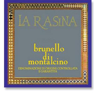 2001 La Rasina Brunello Di Montalcino