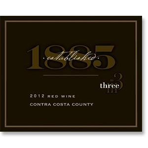 2012 Three Wine Company Established 1885