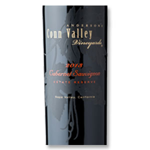 2013 Anderson's Conn Valley Vineyards Cabernet Sauvignon Estate Reserve Napa Valley