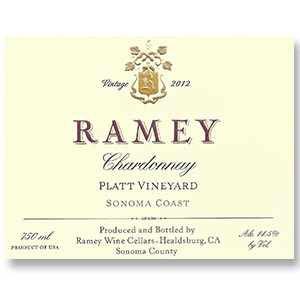 2009 Ramey Wine Cellars Chardonnay Platt Vineyard Sonoma Coast