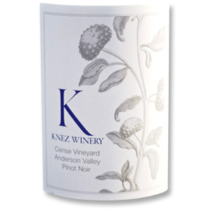 2010 Knez Winery Pinot Noir Cerise Vineyard Anderson Valley