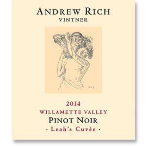 2014 Andrew Rich Wines Leah's Cuvée Pinot Noir Willamette Valley