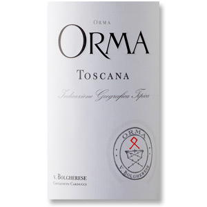 2011 Orma Toscana Rosso IGT