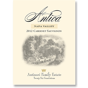 2012 Antica Estate by Antinori Cabernet Sauvignon Atlas Peak Napa