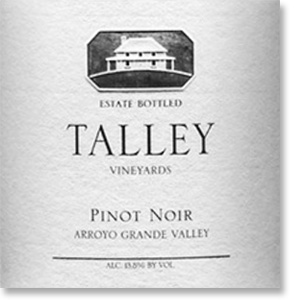 2014 Talley Vineyards Pinot Noir Estate Arroyo Grande Valley