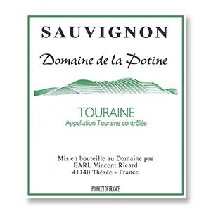 2015 Domaine Vincent Ricard La Potine Sauvignon Blanc Touraine