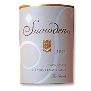 2013 Snowden Vineyard Cabernet Sauvignon The Ranch Napa Valley