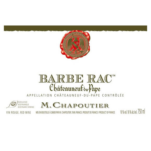 2010 Maison Chapoutier Chateauneuf-du-Pape Barbe-Rac