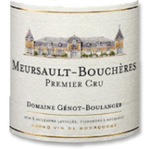 2013 Chateau Genot-Boulanger Meursault Les Boucheres