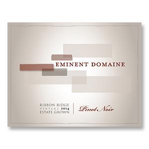 2014 Eminent Domaine Estate Pinot Noir Ribbon Ridge