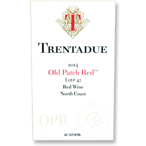 2014 Trentadue Winery Old Patch Red Lot #42