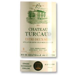 2015 Chateau Turcaud Entre Deux Mers Blanc