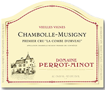 2012 Domaine Perrot-Minot Chambolle-Musigny La Combe d'Orveau Vieilles Vignes