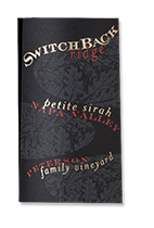 2001 Switchback Ridge Petite Sirah Peterson Family Vineyard Napa Valley
