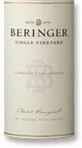 2007 Beringer Vineyards Cabernet Sauvignon Chabot Vineyard St Helena Napa Valley