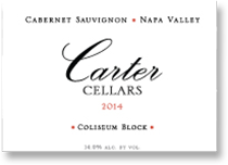 2007 Carter Cellars Cabernet Sauvignon Coliseum Block Napa Valley